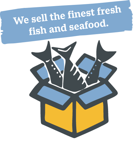 We sell the finest fresh fish seafood